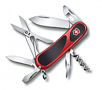 Swiss Army Victorinox Evolution Grip 14 Black/Red 85mm