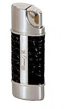 Brizard Nano Torch Black Crocodile/Chrome