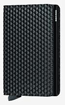 Secrid Slim Wallet Cubic Black
