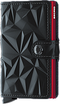 Secrid Mini Wallet Prism Black/Red