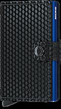 Secrid Mini Wallet Cubic Black/Blue