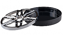 Xikar Burnout Ashtray Chrome/Black