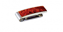 Brizard Money Clip Bubinga