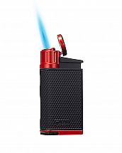 Colibri Evo Torch Lighter Black/Red