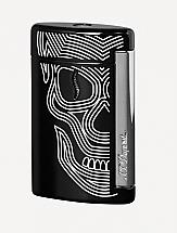 S.T. Dupont Minijet Black Skulls
