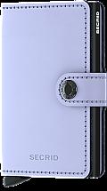 Secrid Mini Wallet Lilac/Black Matte