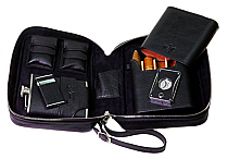 Brizard Havana Traveler Humidor Dakota Black