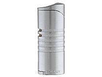 XIKAR Ellipse III Triple Flame Lighter Satin Chrome