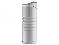 XIKAR Ellipse III Triple Flame Lighter Satin Chrome
