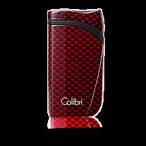 Colibri Falcon Carbon Fiber Single-Jet Flame Lighter Red