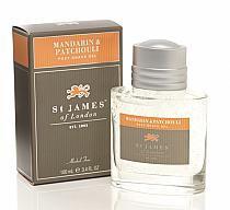 St. James of London Mandarin & Patchouli Post Shave Gel