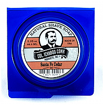 Col. Ichabod Conk Natural Shave Soap Santa Fe Cedar  2.25oz