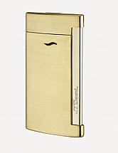 S.T. Dupont Slim 7 Torch Lighter Golden Brushed