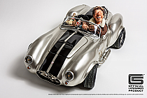 Guillermo Forchino Shelby Cobra 427 Silver