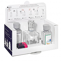 Lampe Berger Essential Kit Square Clear