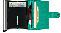 Secrid Mini Wallet Emerald Crisple