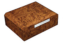 Humidor octagon walnut  50's