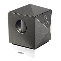 Colibri Quasar Gunmetal Two-in-One Desktop Cigar Cutter