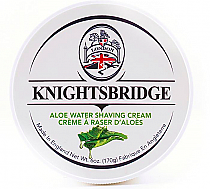 Knightsbridge Shave Cream Aloe Water 170g