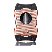 Colibri SV-Cut Cigar Cutter Black/Rose Gold
