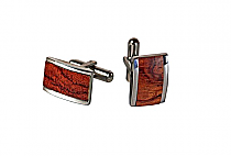 Brizard Cuff Links Bubinga