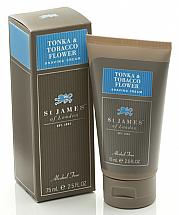 St. James of London Tonka & Tobacco Flower Shave Travel Tube