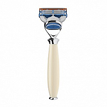 Purist - 5-blade razor, high-grade resin ivory