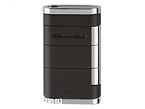 Xikar Allume Single Torch Black