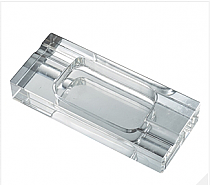 Visol Hadyn Crystal Desktop Cigar Ashtray