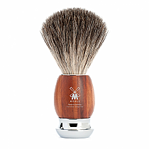 Muhle VIVO Shave Brush Badger Plum Tree
