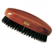 Acca Kappa Military Style Hair Brush Kotibe Wood and Pure Boar Bristles