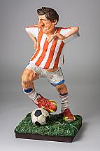 Le joueur de football mini