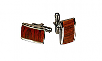 Brizard Cuff Links Rosewood