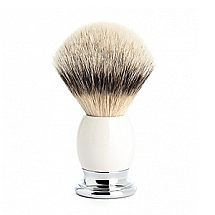 Shave Brush White Porcelain Silvertip L. 23mm / 0.90""