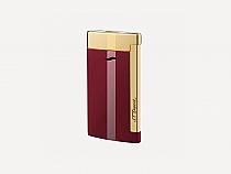 S.T. Dupont Slim 7 Lotus Red/Gold Trim