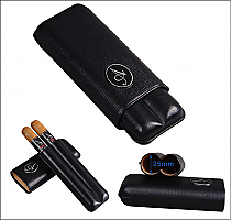 Cigar case 2's angelenos black