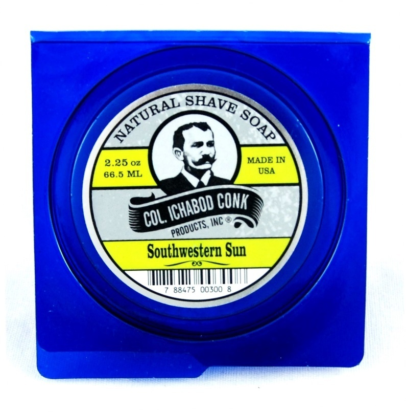 Col. Ichabod Conk Natural Shave Soap Southwestern Sun 2.25oz