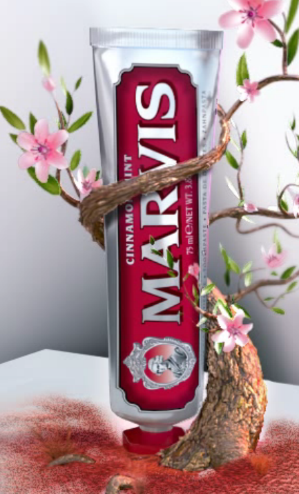 Marvis Cinnamon Travel Toothpaste 25ml