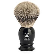 Shavebrush st black resin