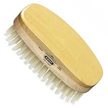Brush mens oval white bristle