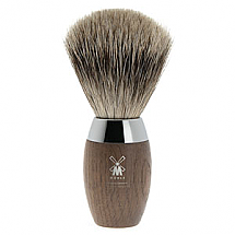 Muhle Shave Brush Fine Badger Tip Bog Oak Handle