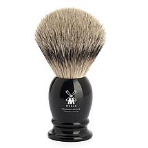 "Shavebrush Silvertip Black  M  21mm /0.83"" Resin"