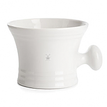 Shave Mug in White Porcelaine
