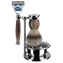 Shave Set 4 Pieces Fusion Horn