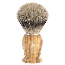 """Shave Brush Silvertip Olive Wood  L. 23mm / 0.90"""""""