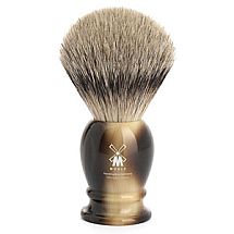 Shavebrush silver-tip brown re