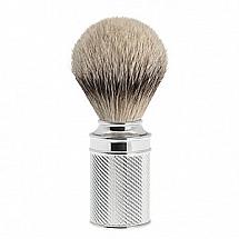 "Shave Brush Silvertip Chrome M  21mm / 0.83"""