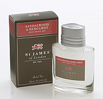 St. James of London Sandalwood & Bergamot Post Shave Gel