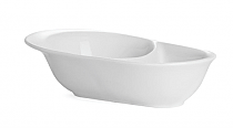 Muhle Shaving/Lathering Bowl White Porcelain