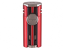 Xikar HP4 Quad Torch Lighter Daytona Red